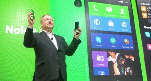 Nokia X đời đầu không được nâng cấp phần mềm