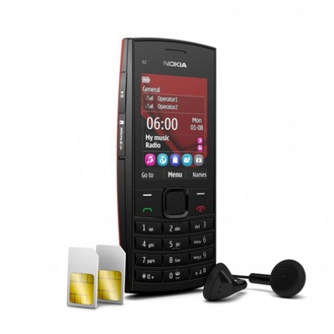 Nokia X2-02 - điện thoại 2 sim loa 'khủng'