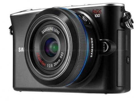 NX100, máy ảnh lai thứ hai của Samsung