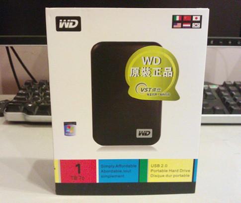 Ổ di động WD làm bằng USB và bu-lông