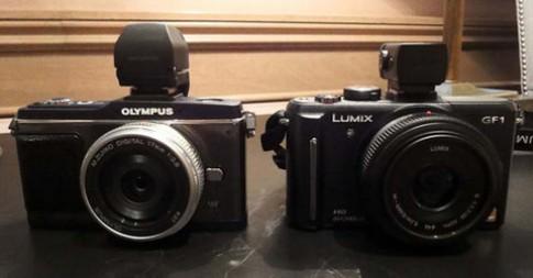 Olympus E-P2 vs. Panasonic GF1