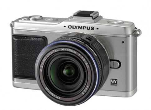 Olympus giới thiệu E-P2 phiên bản màu bạc