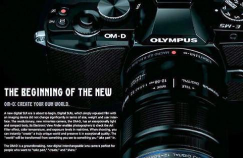 Olympus ra máy MFT phong cách retro ngày 8/2