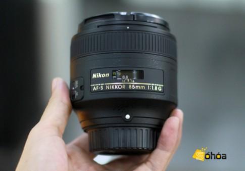 Ống kính 85 mm f/1.8 mới của Nikon