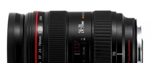 Ống kính Canon EF 24-70mm bản II có thể ra tháng sau