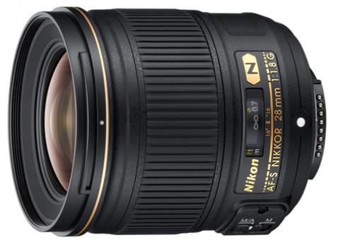 Ống kính Nikkor 28mm f/1.8G cho máy full-frame