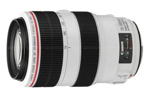 Ống zoom hai khẩu đắng cấp L của Canon giá 1.600 USD