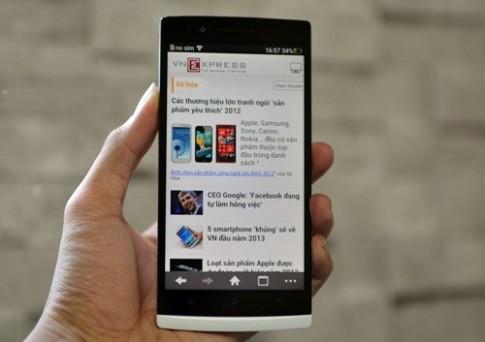 OPPO bắt đầu bán smartphone Full HD giá 500 USD