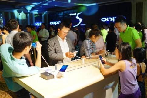Oppo Find 5 có giá 10 triệu đồng