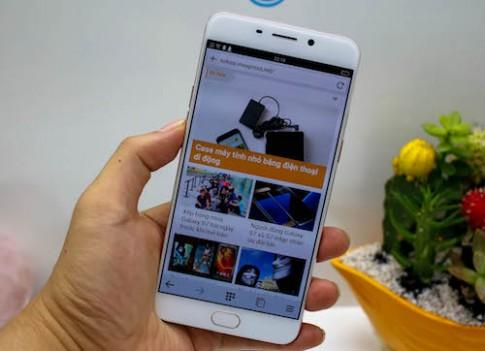 Oppo ra bản R9 với camera trước 16 megapixel