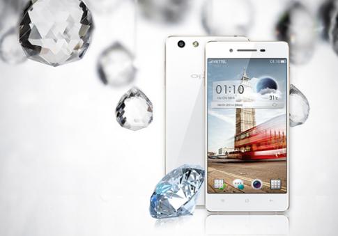 Oppo ra mắt smartphone thời trang