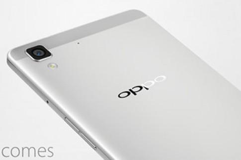 Oppo thêm điện thoại siêu mỏng nâng cấp từ R5