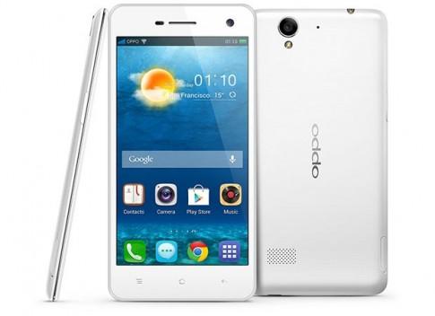 Oppo tung ra smartphone 4,7 inch siêu mỏng nhẹ
