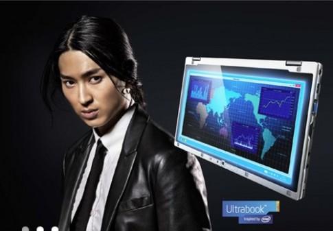 Panasonic giới thiệu ultrabook màn hình lật ngược siêu bền