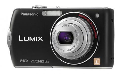 Panasonic ra máy góc rộng Lumix FX75