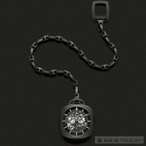 Panerai ra mắt đồng hồ bỏ túi Tourbillon GMT Ceramica