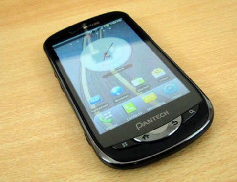 Pantech để lộ smartphone Android 4.0, chip Snapdragon
