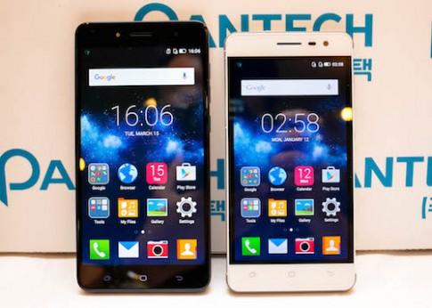 Pantech trở lại Việt Nam với hai mẫu tầm trung