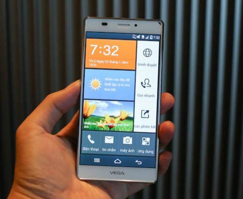 Pantech vào thị trường smartphone Việt với Vega Iron A870
