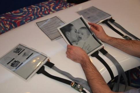 PaperTab - tablet 'giấy' đầu tiên trên thế giới