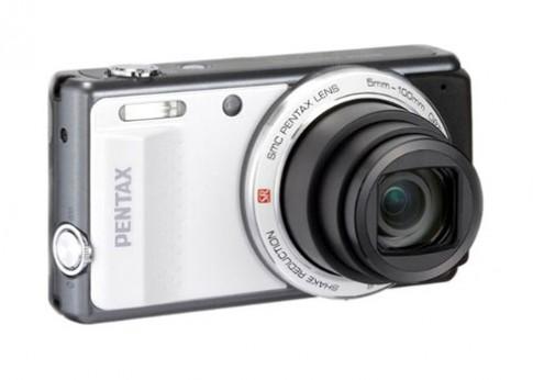 Pentax ra VS20 siêu zoom với 2 phím chụp hình