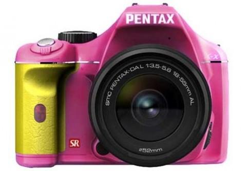 Pentax thêm dòng máy quay phim HD
