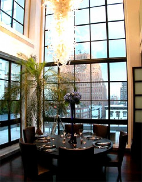 Penthouse ở New York
