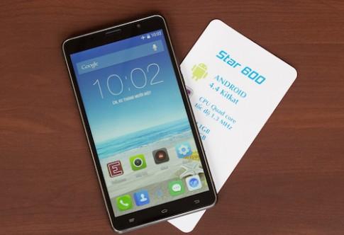 Phablet Android dùng chip lõi tứ giá 3 triệu đồng