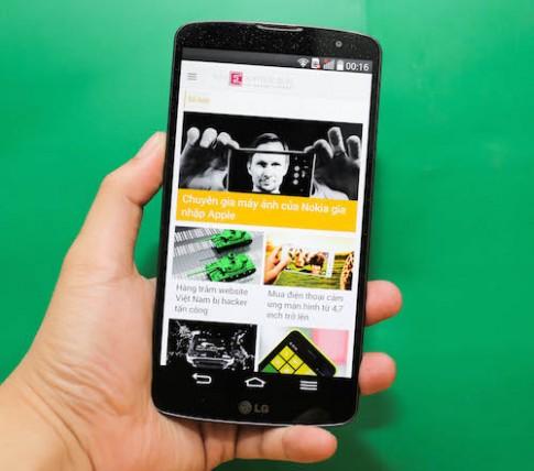 Phablet cao cấp LG G Pro 2 giá 14 triệu đồng