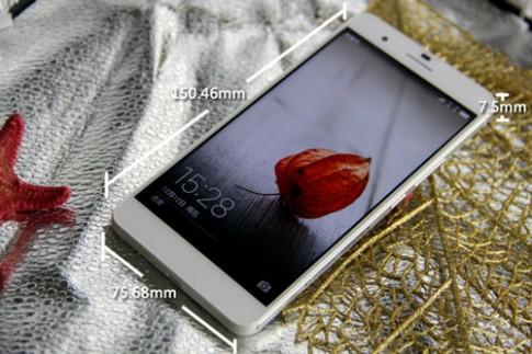 Phablet hỗ trợ hai sim, tích hợp 3 camera của Huawei