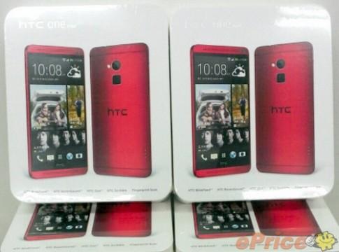Phablet HTC One Max sắp có thêm màu đỏ và đen