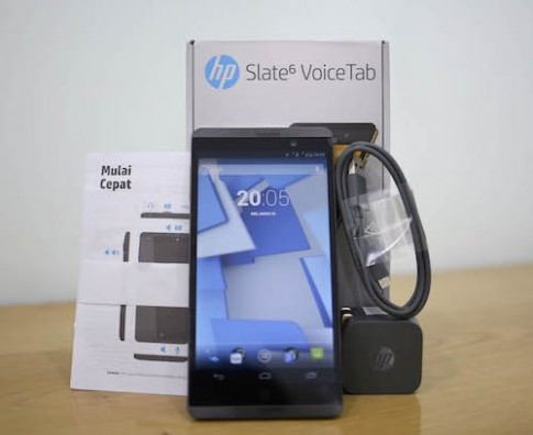 Phablet Slate 6 Voice Tab của HP giảm gần nửa giá