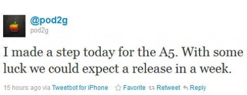 Phần mềm jailbreak iPhone 4S có trong tuần sau