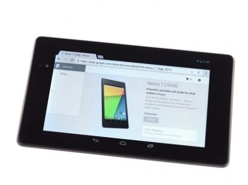 'Phẫu thuật' Nexus 7 thế hệ hai với màn hình nét nhất thế giới