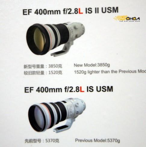 Phiên bản Canon EF 400mm f/2.8L IS II tại Thượng Hải