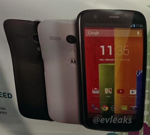 Phiên bản giá rẻ của Moto X sở hữu màn hình HD 4,5 inch