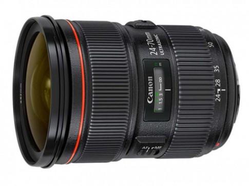 Phiên bản hai ống Canon 24-70mm xuất hiện