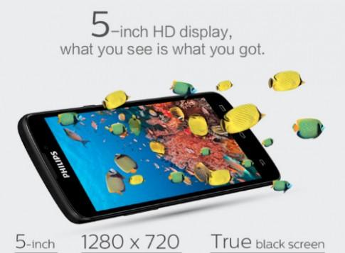 Philips giới thiệu smartphone Android pin chờ 60 ngày