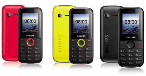 Philips ra điện thoại 2 SIM giá rẻ hỗ trợ thẻ nhớ 32 GB