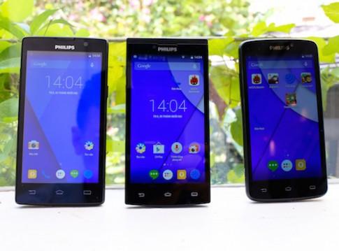 Philips ra mắt bộ ba smartphone mới tại Việt Nam