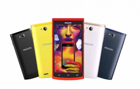 Philips tung ra smartphone Android lõi tứ giá 2 triệu đồng
