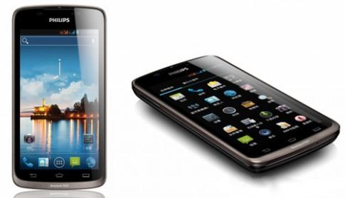 Phillips giới thiệu di động Android hai sim pin 'khủng'