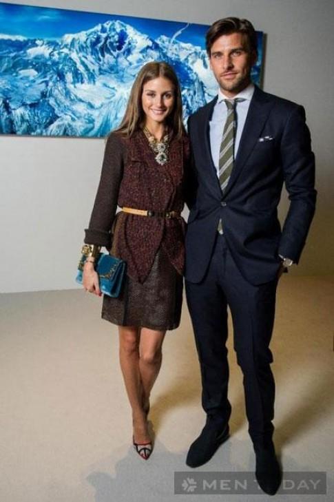"""Phối đồ đôi """"ăn ý"""" như cặp đôi Olivia Palermo và Johannes Huebl"""