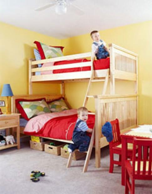 Phòng đôi cho trẻ
