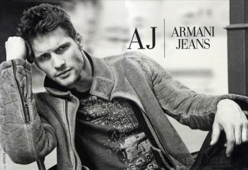 Phong trần và nam tính với chiến dịch thu đông 2013 của Armani Jeans