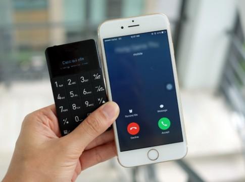 Phụ kiện biến iPhone thành điện thoại 'mẹ bồng con'