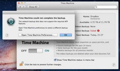 Phục hồi dữ liệu từ máy chủ NAS trên Lion bị lỗi