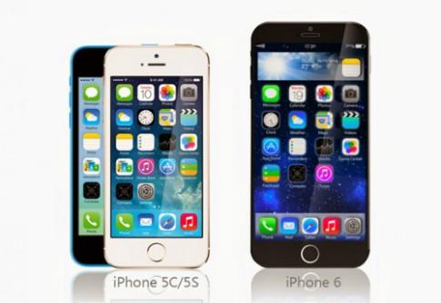 Pin iPhone 6 hứa hẹn lớn hơn iPhone 5S rất nhiều
