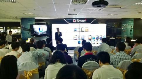 Q Mobile ra loạt smartphone tầm trung