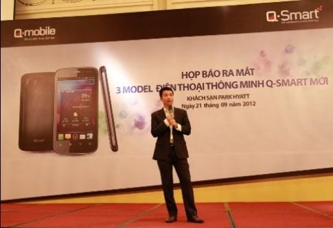 Q-mobile tăng cường 'binh đoàn' smartphone Q-Smart